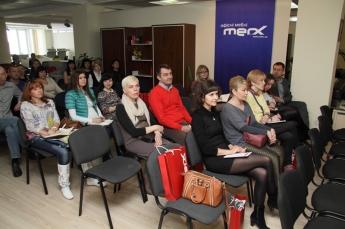 Конференція «Бізнес-ідеї від меблевої компанії MERX»