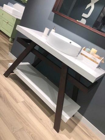 Стильная ванная комната в минимализме - Virginia!
