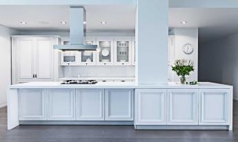 Біла кухня. Великі плюси, невеликі мінуси