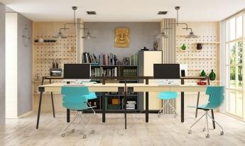 Офісні меблі.  Вибираємо та розташовуємо правильно